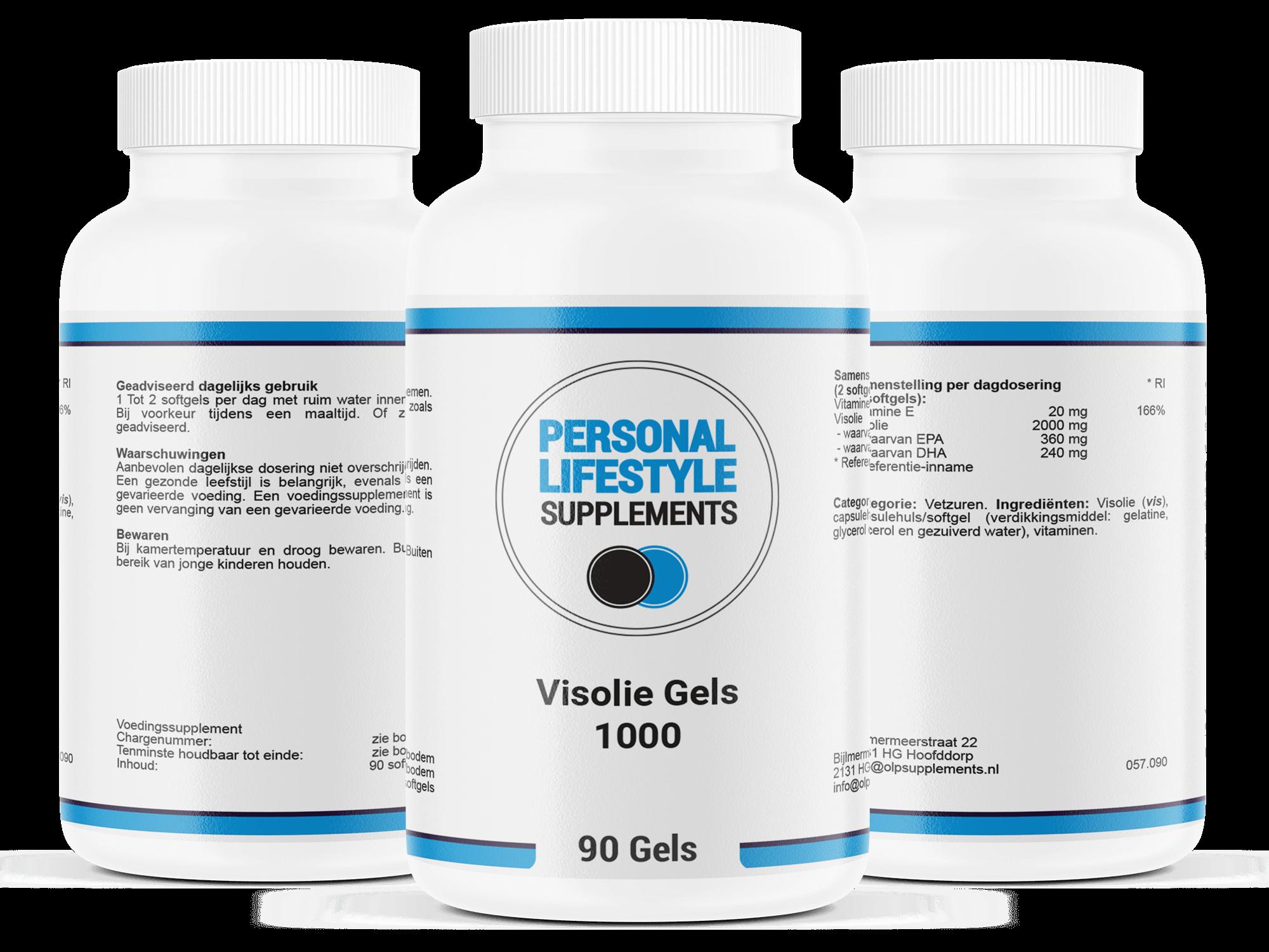 Visolie-capsules-supplement-meervoudige-onverzadigde-vetzuren-EPA-en-DHA-omega-3-visvetzuren-positief-voor-hart-en-hersenen-geheugenfunctie-en-gezichtsvermogen